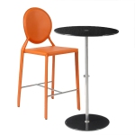 Raina Table + Isabella-C Counter Chair