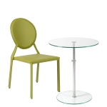 Raina Table + Isabella Side Chair