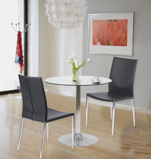 Max Side Chairs + Talia Dining Table