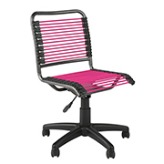 Charmant ... Bungie Low Back Chair Pink