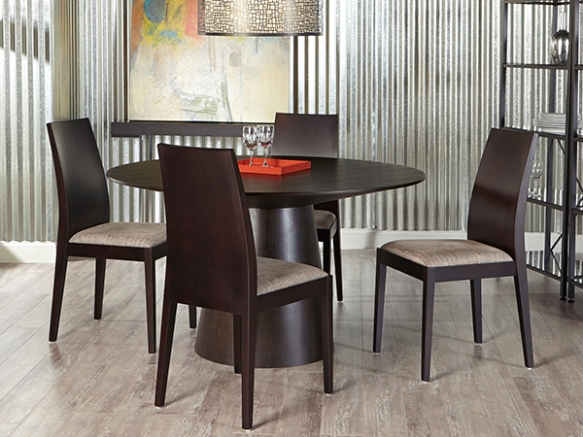 Wesley Dining Table and Deanna Side Chairs