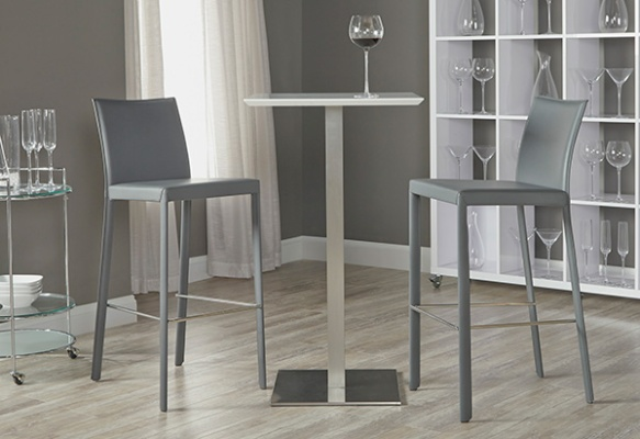 Elodie-B Bar Table + Hasina-B Barstool