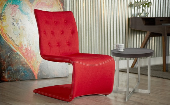 Ville Lounge Chair + Oliver Side Table