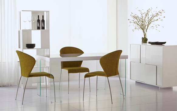 Cabrio Dining Table + Sy Side Chair