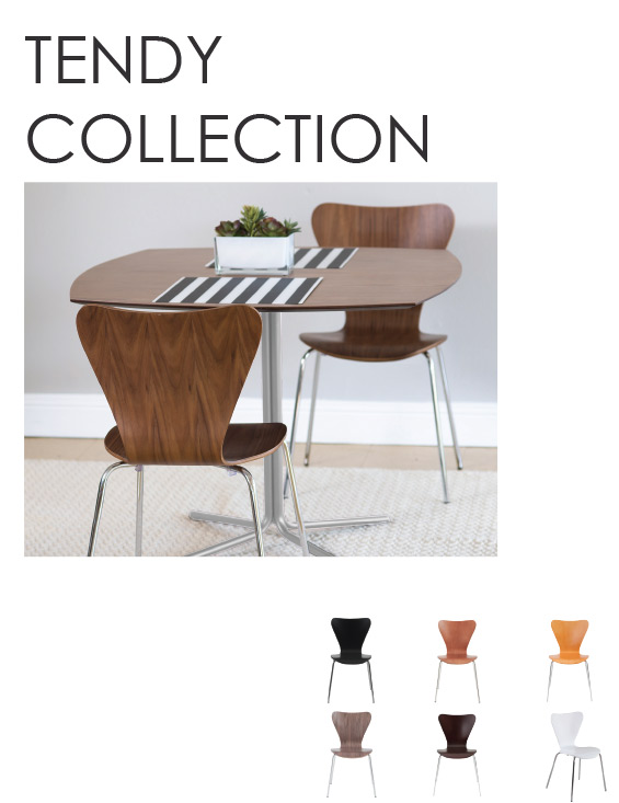 Tendy Collection modern classic chairs